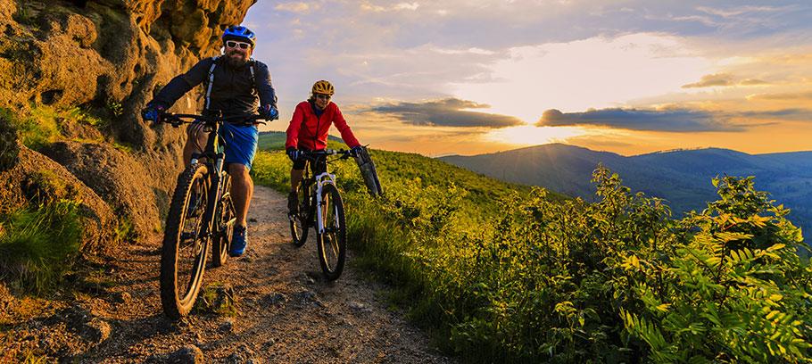 För- och nackdelar med mountainbike